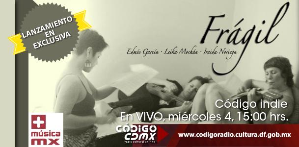 Colaboración- Frágil con Iraida Noriega y Leika Mochán