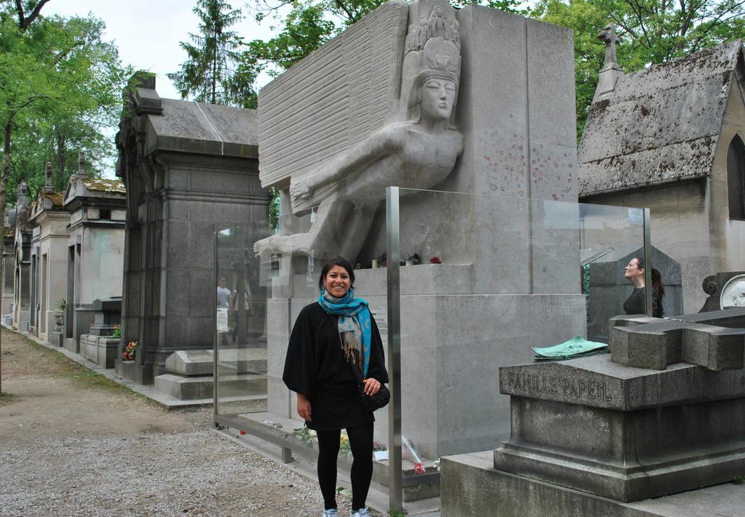 El cementerio Pere LaChaise de París