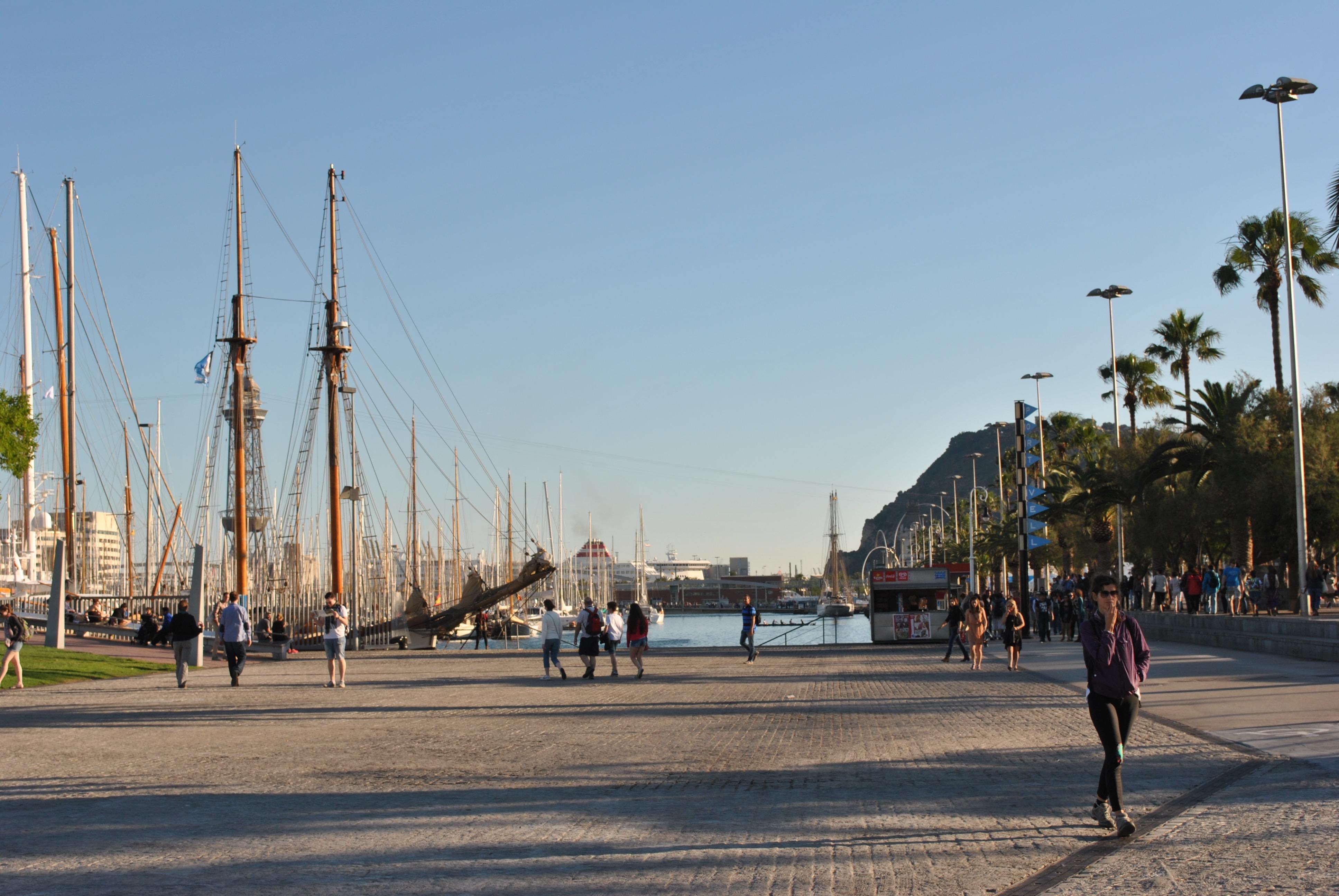 Mi vuelta al mundo- ¡Hola Barcelona!