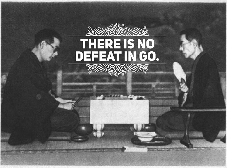 There is no defeat in Go