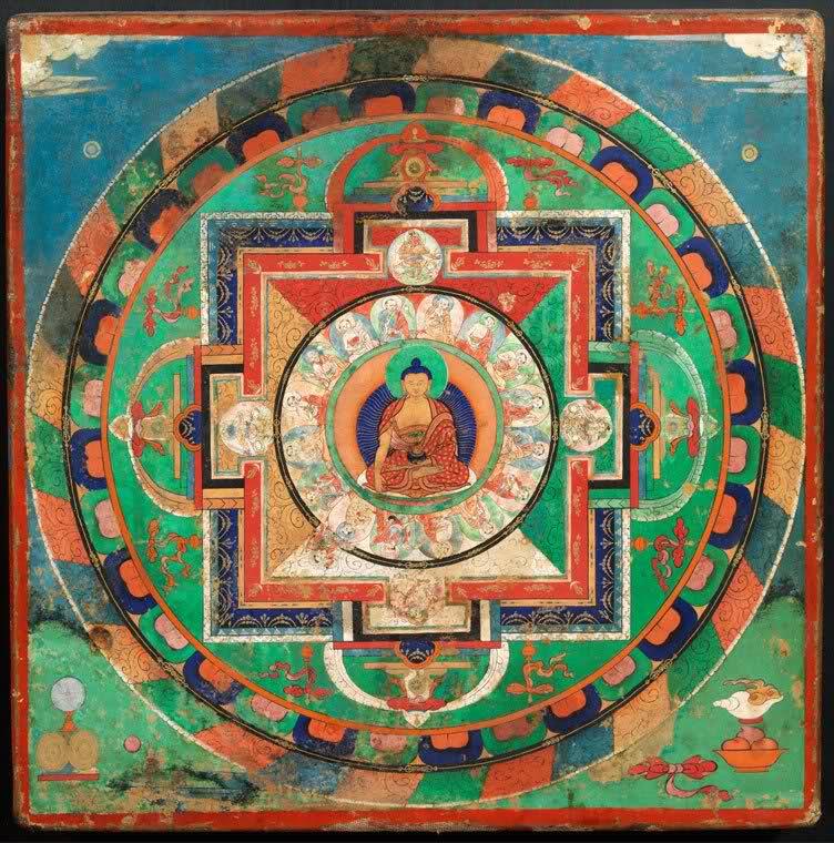 mandala budista tibetano