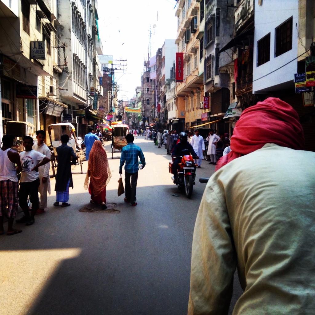 Paseando en Varanasi